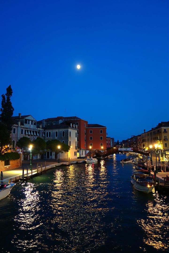 Das letzte Bild in Venedig. Es war herrlich